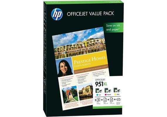HP Original OfficeJet Value Pack 951XL