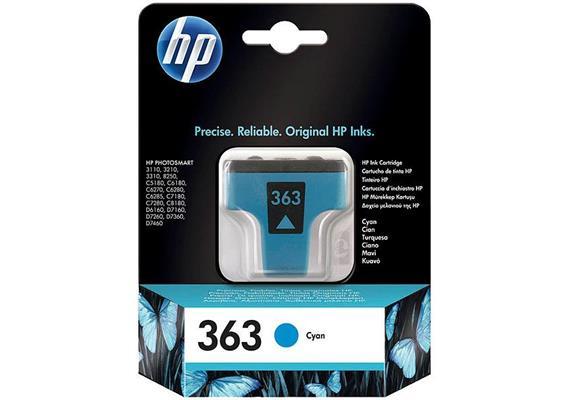 HP Original-Patrone Nr. 363 cyan