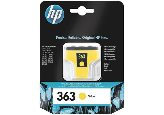 HP Original-Patrone Nr. 363 yellow