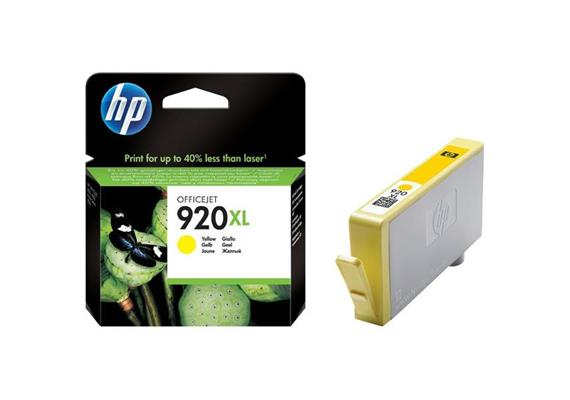 HP Original-Patrone Nr. 920XL yellow
