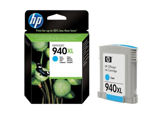 HP Original-Patrone Nr. 940XL cyan