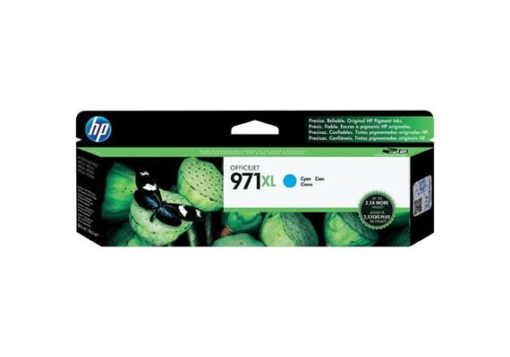 HP Original-Patrone Nr. 971XL cyan
