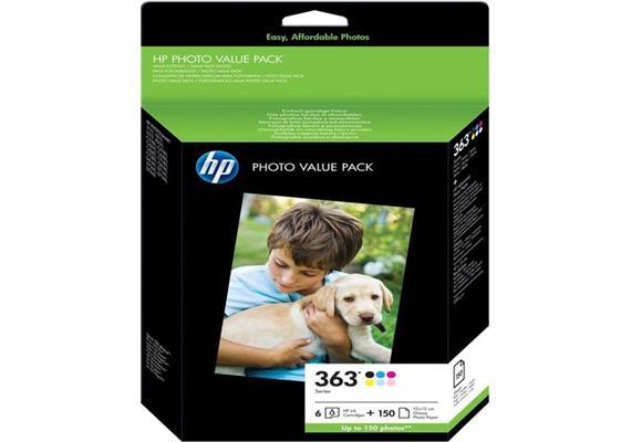 HP Original Photo Value Pack 363 Serie