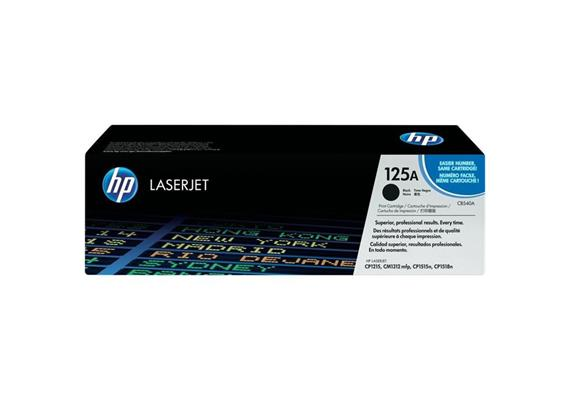 HP Original-Toner CB540A black