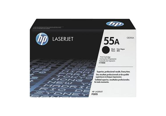 HP Original-Toner CE255A black