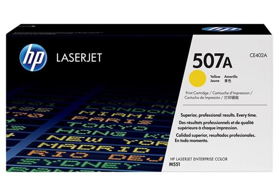 HP Original-Toner CE402A yellow