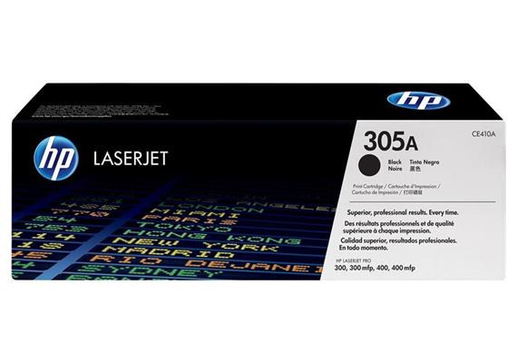 HP Original-Toner CE410A black
