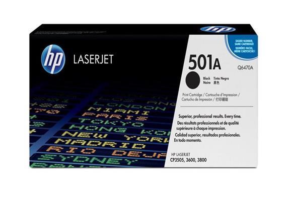 HP Original-Toner Q6470A black