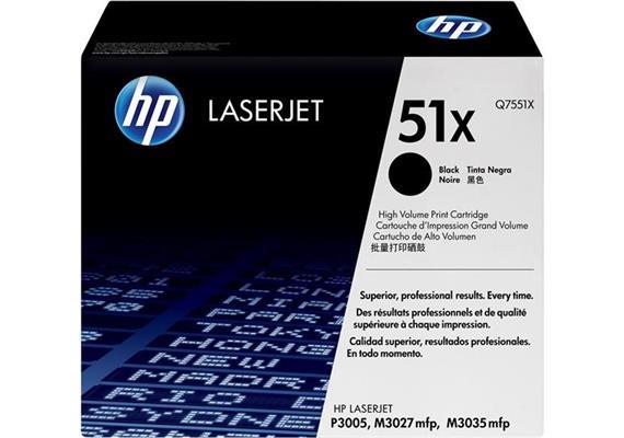 HP Original-Toner Q7551X black