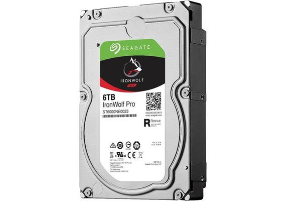 Seagate IronWolf Pro 6TB Festplatte