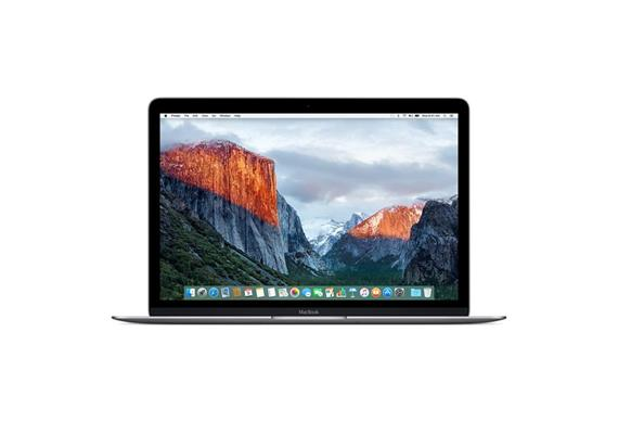 "Apple MacBook 12"" 256GB M3 1.20 - Space Gray Early 2017 Ausstellung"