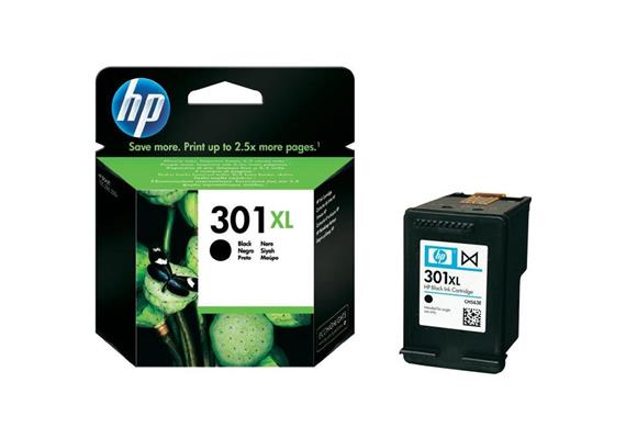 HP Original-Patrone Nr. 301XL black