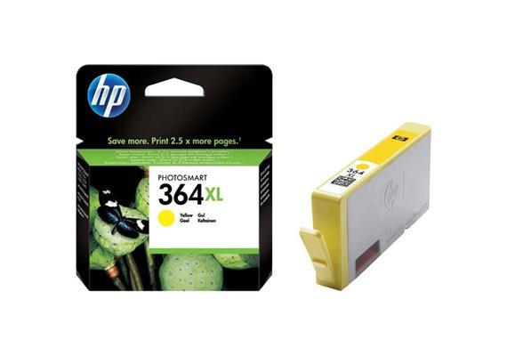 HP Original-Patrone Nr. 364XL yellow