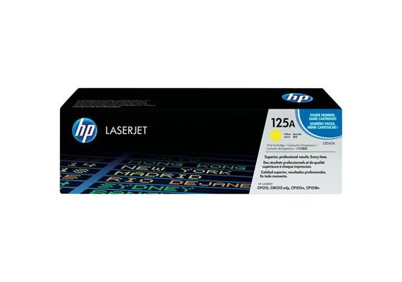 HP Original-Toner CB542A yellow