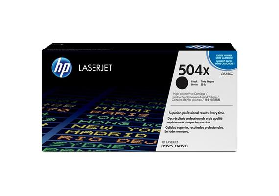 HP Original-Toner CE250X black