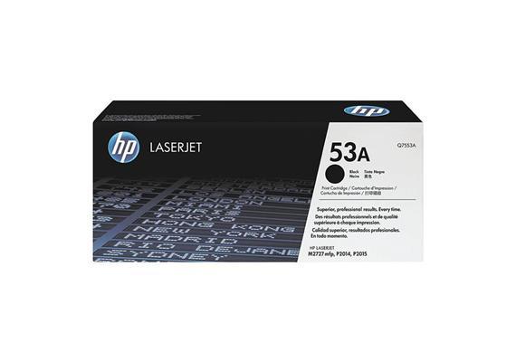 HP Original-Toner Q7553A black