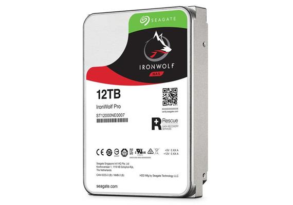 Seagate IronWolf Pro 12TB Festplatte