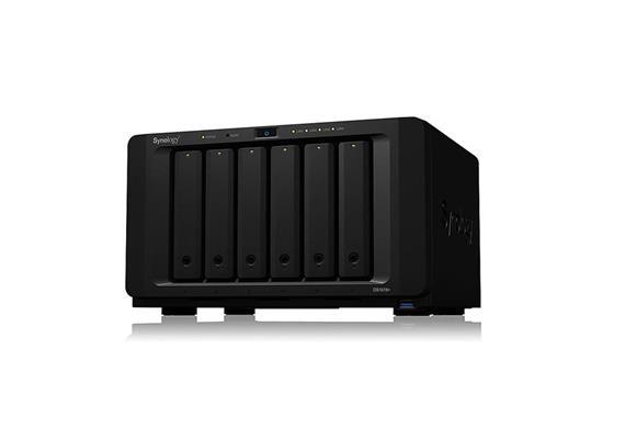 Synology DS1618+ Netzwerkspeicher (NAS) ohne Festplatten