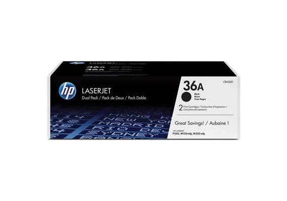 HP Original-Toner CB436A black