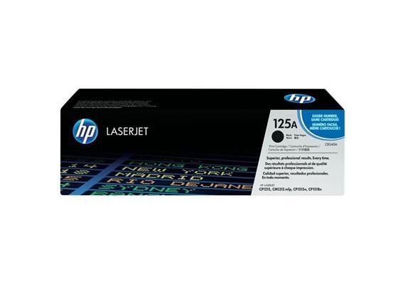 HP Original-Toner CB540A black