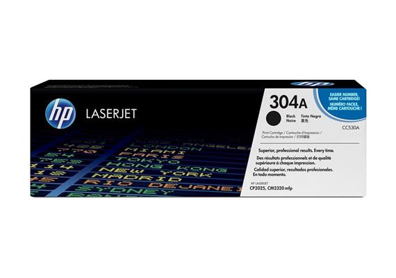 HP Original-Toner CC530A black