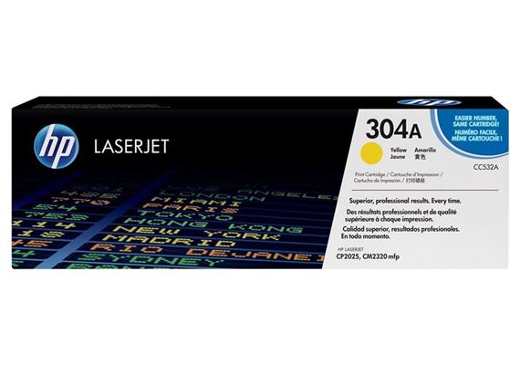 HP Original-Toner CC532A yellow