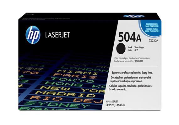 HP Original-Toner CE250A black