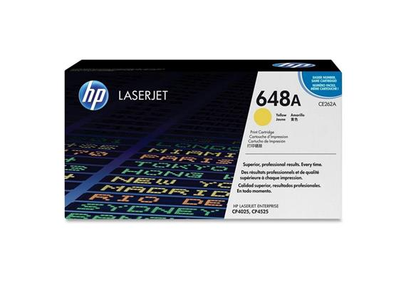 HP Original-Toner CE262A yellow