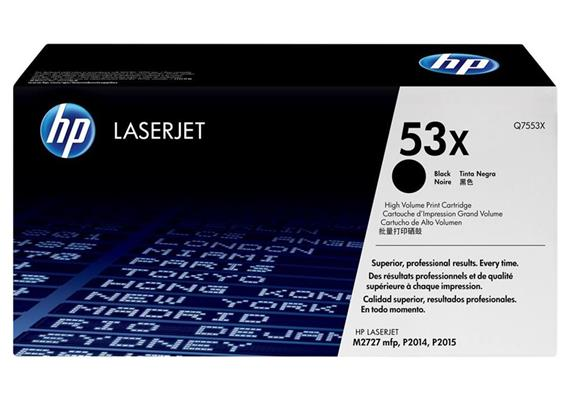 HP Original-Toner Q7553X black