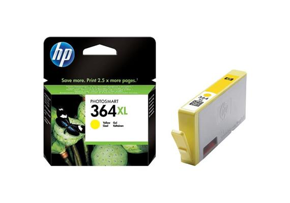 HP Original-Patrone Nr. 364XL yellow