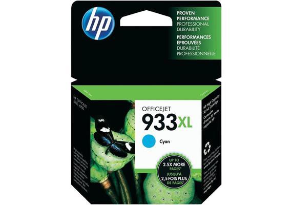 HP Original-Patrone Nr. 933XL cyan