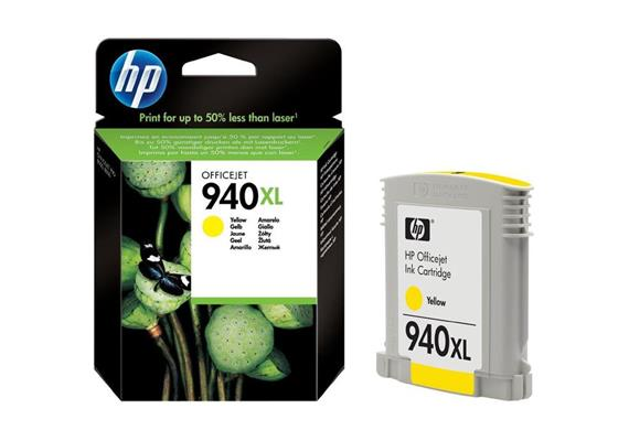 HP Original-Patrone Nr. 940XL yellow