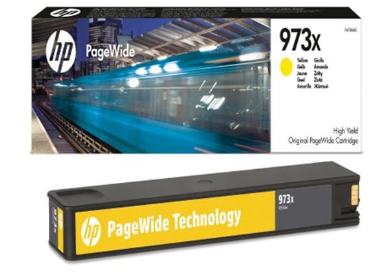 HP Original-Patrone Nr. 973X, yellow
