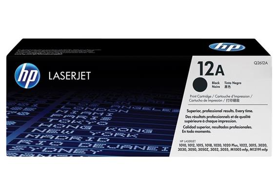 HP Original-Toner Q2612A black