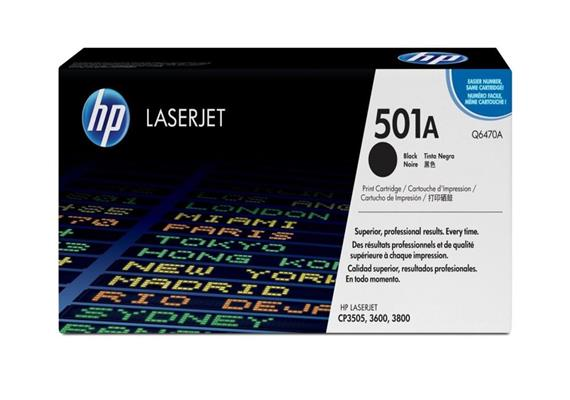 HP Original-Toner Q6470A black
