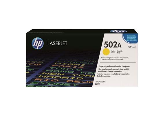 HP Original-Toner Q6472A yellow