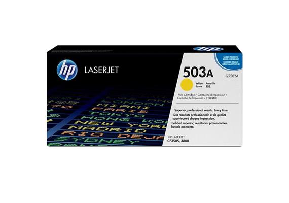HP Original-Toner Q7582A yellow